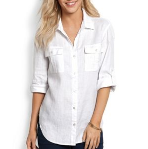 High quality linen blouse